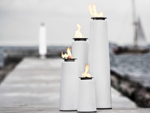 Lighthouse oil lamp